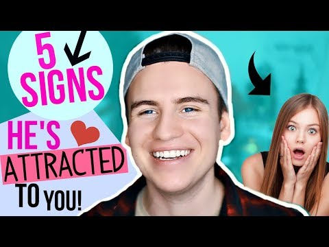 5 SUBTLE SIGNS A GUY IS ATTRACTED TO YOU!