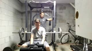Download Lagu 17 Year Old Bench Press 190 lbs At 131 Bodyweight Mp3