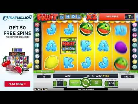 Crazy Wins Playing Fruit Shop Slot!