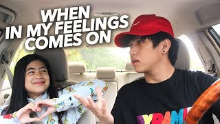 When In My Feelings By Drake Comes On | Ranz and Niana