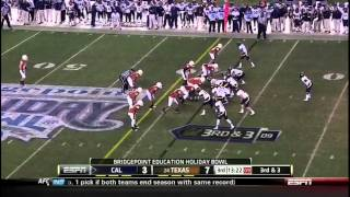 Keenan Allen vs USC, Texas, Washington (2011)