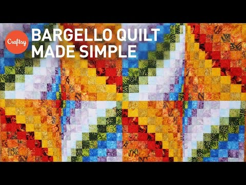 , title : 'Bargello quilt project made simple | Quilting Tutorial with Angela Walters'