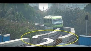 Download Lagu MUMBAI MONORAIL - Dont Miss The End & See Something called TURNOUT, Never Seen Before Mp3