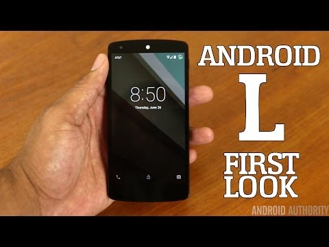 Android L – First Impressions!