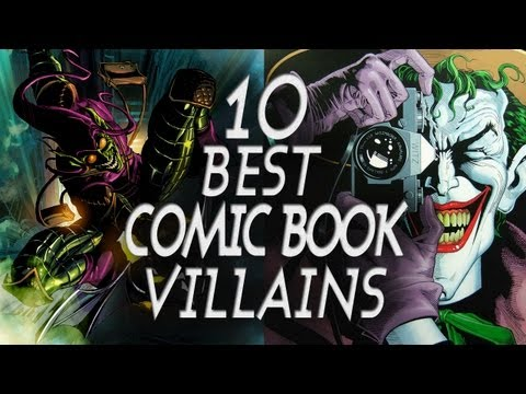 comic book - Subscribe to Variant: http://www.youtube.com/subscription_center?add_user=variantcomics Today Arris counts down the Top Ten Comic Book Villains of all time! ...