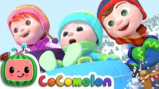 Video Winter Song (Fun in the Snow) | CoCoMelon Nursery Rhymes & Kids Songs MP3, 3GP, MP4, WEBM, AVI, FLV April 2019