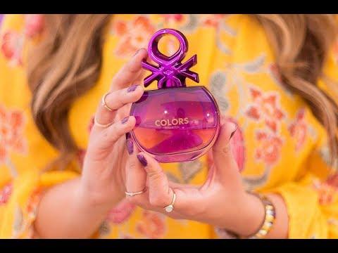 Conociendo el Nuevo perfume de BENETTON #ImPurple Sorteo nacional ♥ Consux видео