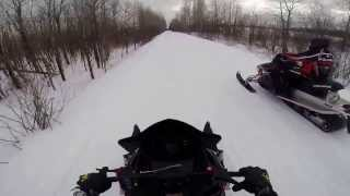 10. 2014 Polaris Indy 800 SP vs. 2013 RUSH PRO R 800