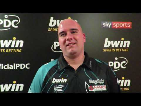 Rob Cross: I paid Raymond van Barneveld too much respect