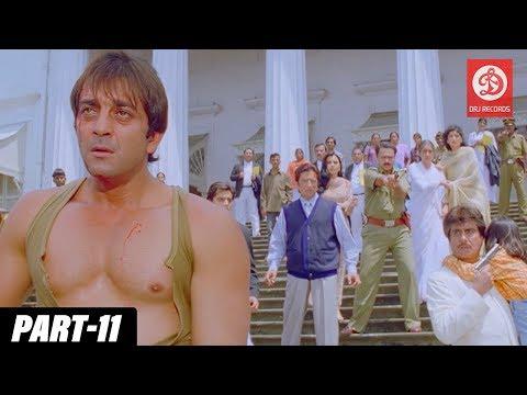 Daag The Fire - Bollywood Action Movies | PART - 11 | Sanjay Dutt & Mahima Chaudhry | Hindi Movies