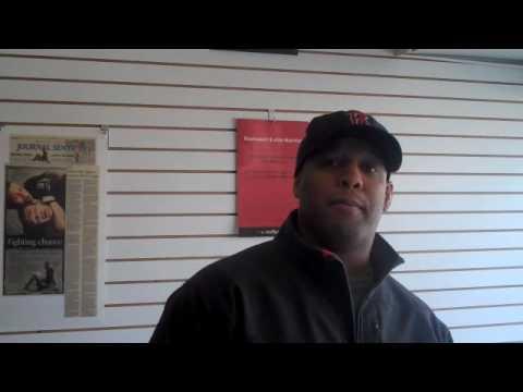 Matt Mitrione UFC 113 MMA Training Blog Video #2 - Coaches Interviews