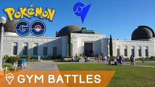 BATTLING GYMS IN POKÉMON GO by Trainer Tips
