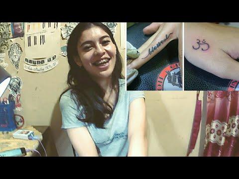Font Tattoo / tato tulisan sederhana by Chal Ink Tattoo Studio Cipondoh Tangerang