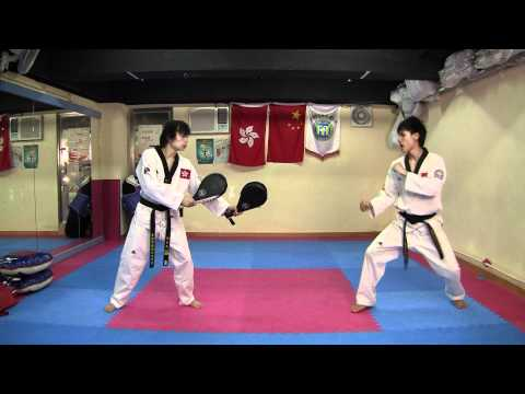 【Taekwondo】Combo Kicks, Turning Kicks, Single Kicks