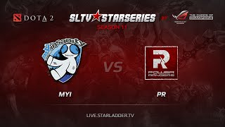 PR vs mYi, game 1