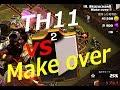 【クラクラ TH11】Make over戦 ホグの使い手達(゚Д゚;)【vs Make over】