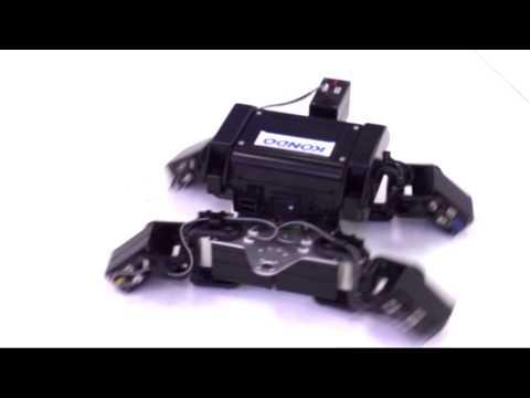 カメ型ロボットデモムービー