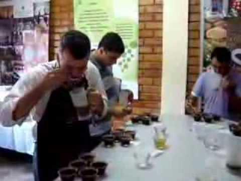Etapa Final do Concurso de Cafés de Qualidade de Muniz Freire