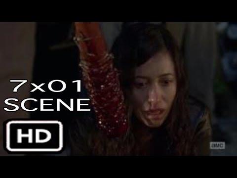 "The Walking Dead 7x01 ""Daryl Punches Negan"" Scene Season 7 Episode 1"
