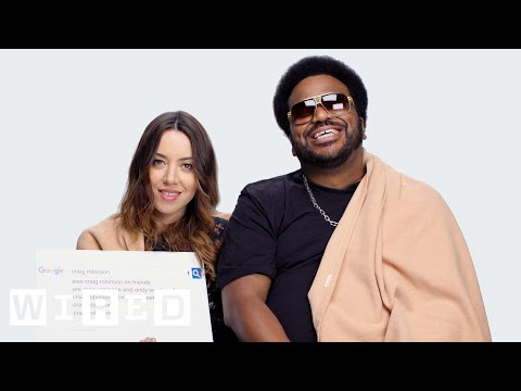 Aubrey Plaza and Craig Robinson Answer the Internet s Most Searched Questions About