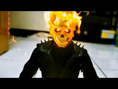 Ghost Rider and Resident Evil stop motion – Breath from Hell 惡靈戰警