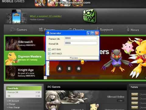 Digimon Master Online Generator 10/30/12