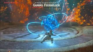 The Legend of Zelda Breath of the Wild - Ganon´s Feuerfluch Bossfight