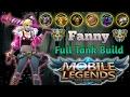 Mobile Legends : Fanny The Best Tank   Fanny Full Tank Build (MVP Gameplay)