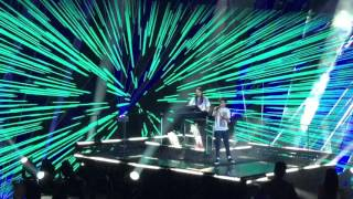 Louis Tomlinson & Steve Aoki - Just Hold On X Factor Final 2016 Video