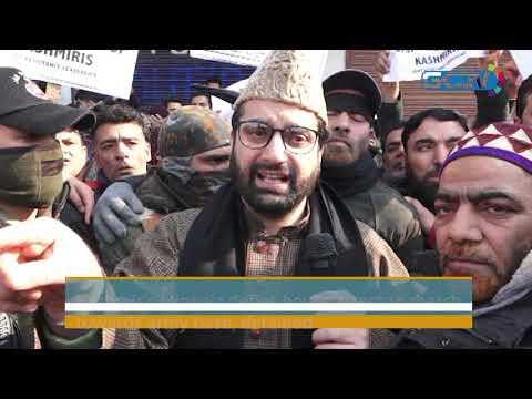 Kashmir's Mirwaiz defies house arrest to march towards army base