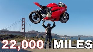 8. Ducati Panigale 22,000 Mile Review and Repair Costs