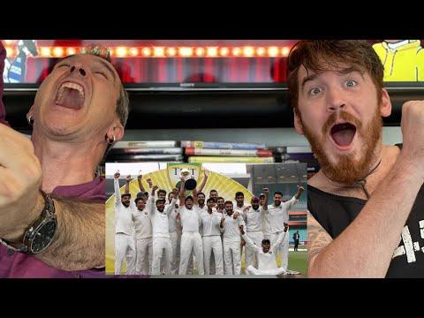 India Vs Australia: Team India WINS | REACTION!!