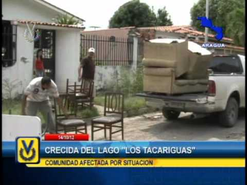 Lago Los Tacariguas - Ver Más: http://www.noticierovenevision.net/ Suscríbete: http://tinyurl.com/cbmxonl En el estado Aragua, las familias afectadas por el crecimiento del lago L...