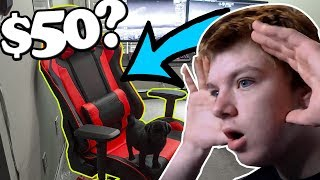 Video I bought the cheapest gaming chair on amazon... MP3, 3GP, MP4, WEBM, AVI, FLV Juli 2018