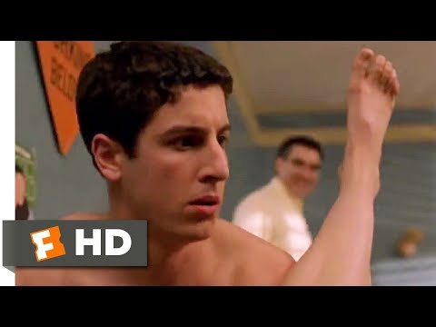 american pie - American Pie 2 Movie Clip - watch all clips http://j.mp/AoFRwR click to subscribe http://j.mp/sNDUs5 Jim's dad (Eugene Levy) tries to surprise Jim (Jason Big...