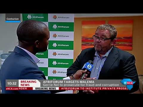 AfriForum standing its ground in prosecuting Malema, despite his anger