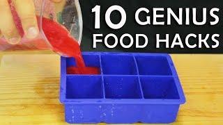 Video 10 Genius Food Hacks MP3, 3GP, MP4, WEBM, AVI, FLV Maret 2019
