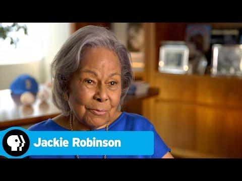 JACKIE ROBINSON | Rachel Robinson on Jackie Robinson | PBS