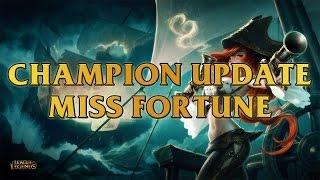 LMHT: Chi tiết bộ kỹ năng mới của Miss Fortune