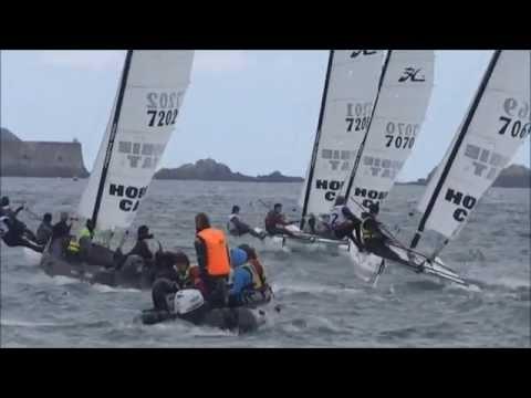 Championnat d'Ille et Vilaine de voile 2014. Série Catamaran
