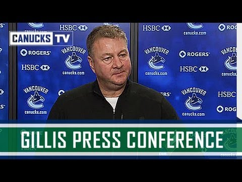 conference - Mike Gillis addresses the media following the conclusion of the Vancouver Canucks 2013 season. Subscribe to the official Canucks YouTube channel: http://bit....