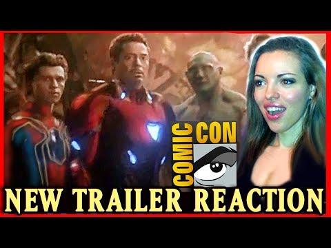 Avengers Infinity War Trailer LEAKED - Reaction - San Diego Comic Con SDCC 2017 Review Description
