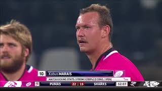 Steval Pumas vs Cell C Sharks