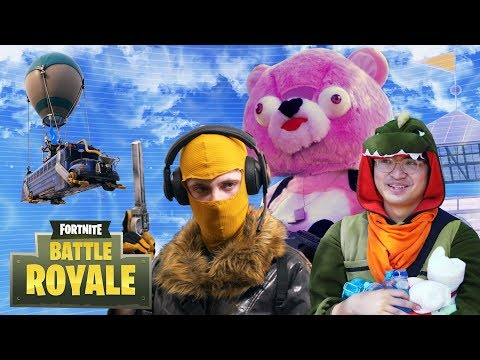 Fortnite Battle Royale In Real Life