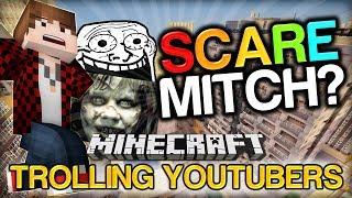 Minecraft Trolling Youtubers - SCARE PRANK on BAJAN CANADIAN w/ Ashley, Vikkstar and Jerome