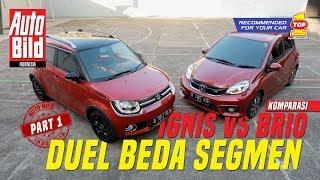 Video Suzuki Ignis GX vs Honda Brio RS   Komparasi   Auto Bild Indonesia Part 1 MP3, 3GP, MP4, WEBM, AVI, FLV Desember 2017