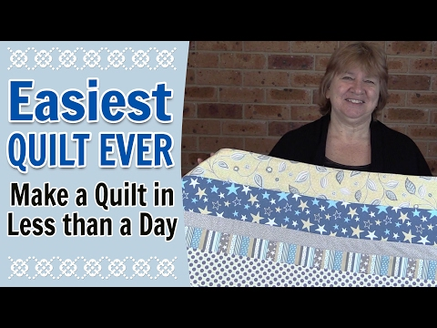 , title : 'Quilting for Beginners - Easiest Quilt for Beginners Ever (Quilting Tutorial)'