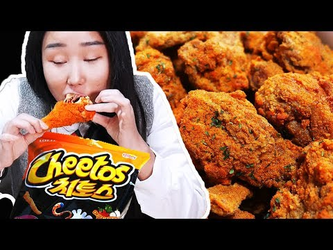 CHEETOS CHICKEN! Ayam goreng ZAMAN NOW