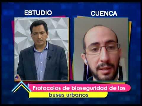 Ocupación de los buses urbanos en Cuenca