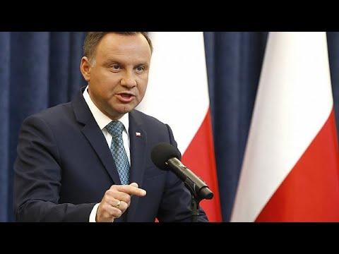 Πολωνία: Προεδρικό βέτο για τη μεταρρύθμιση στη Δικαιοσύνη